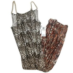 Lemmie Nina Leonard Sz 1X Maxi Travel Dress